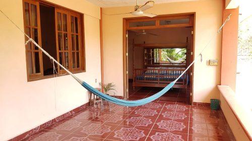 Villa Mango Puerto Escondido Manila king private room hammock1