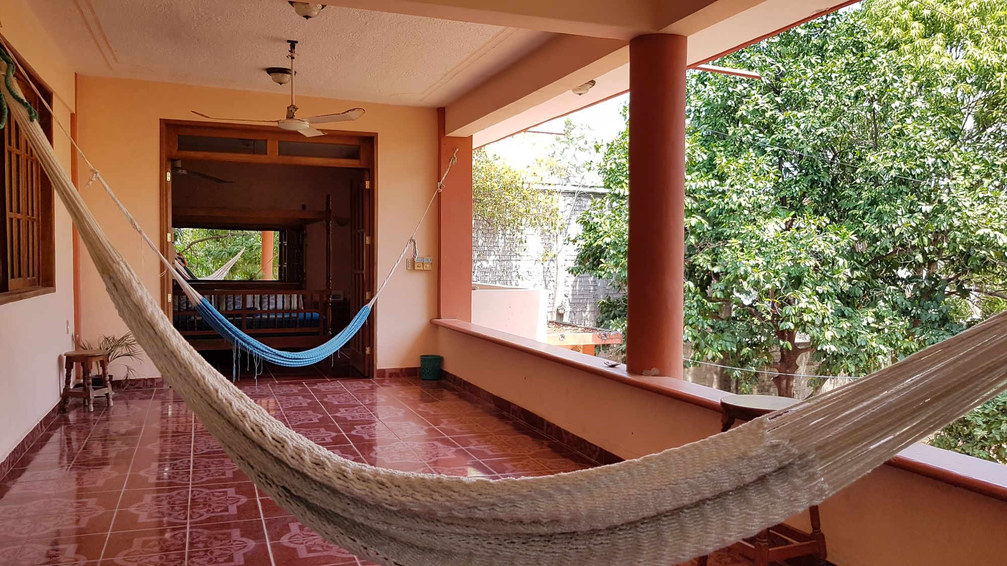Villa Mango Puerto Escondido Manila king private room hammock2