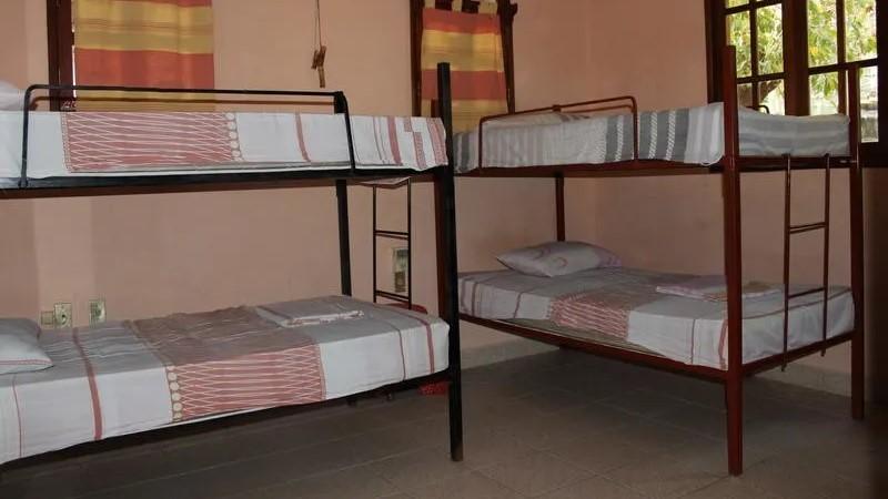 Villa Mango Puerto Escondido Tommy mixed dorm room5